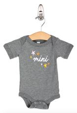 friday + saturday mini star onesie