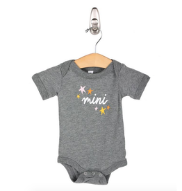 friday + saturday mini star onesie