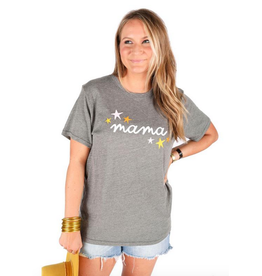 friday + saturday mama star tee
