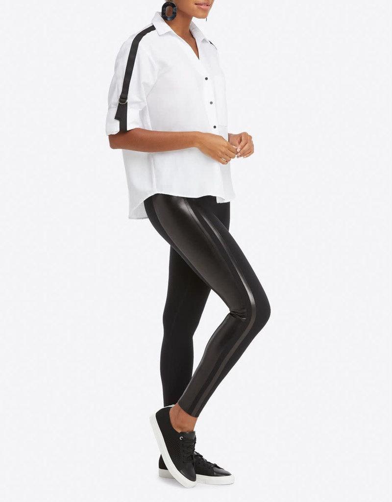 spanx every where gloss side stripe legging