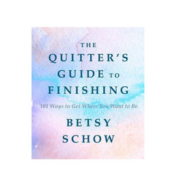 the quitters guide to finishing