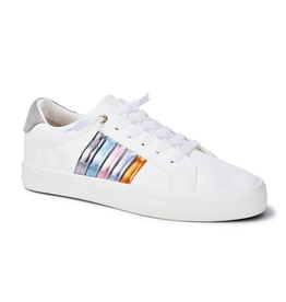 vintage havana next-white rainbow sneakers