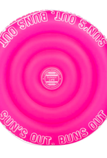 twin round float - neon pink