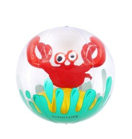 3D inflatable beach ball - crabby