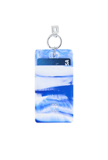 o venture blue me away marble silicone id case