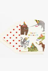 animal party happy birthday
