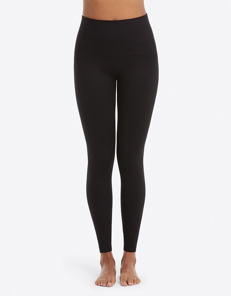spanx look at me now leggings very black