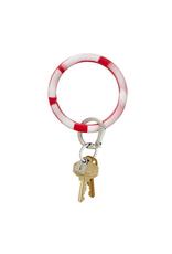 o venture marble silicone big O key ring