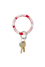 oventure marble silicone big O key ring