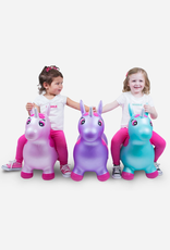 unicorn bouncy toy - turquoise