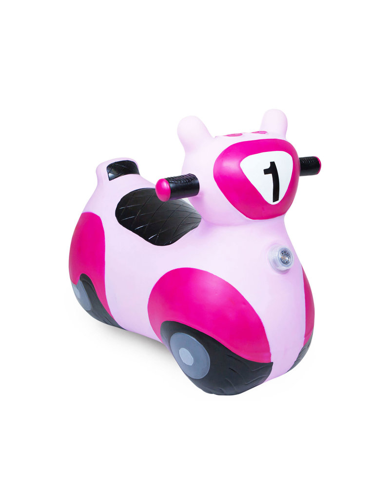 scooter bouncy toy - pink