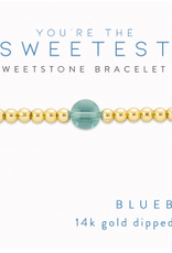 sweet stone stretch bracelet