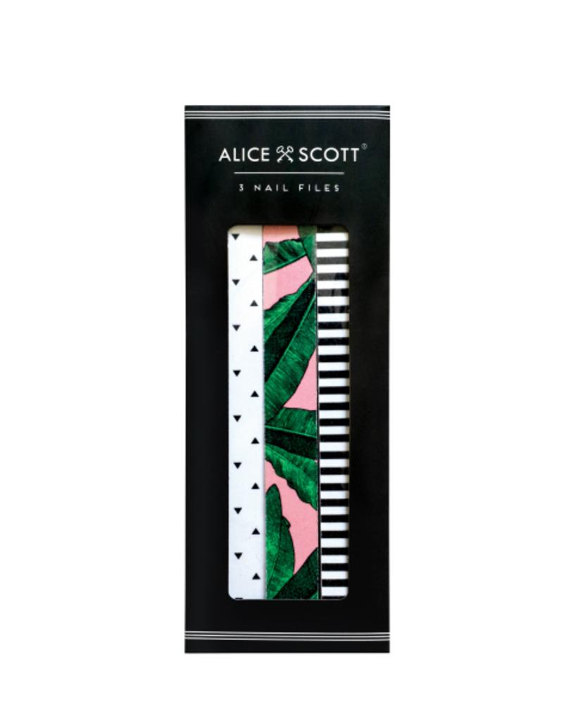 alice scott set of 3 nail files