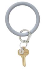 silicone big O key ring