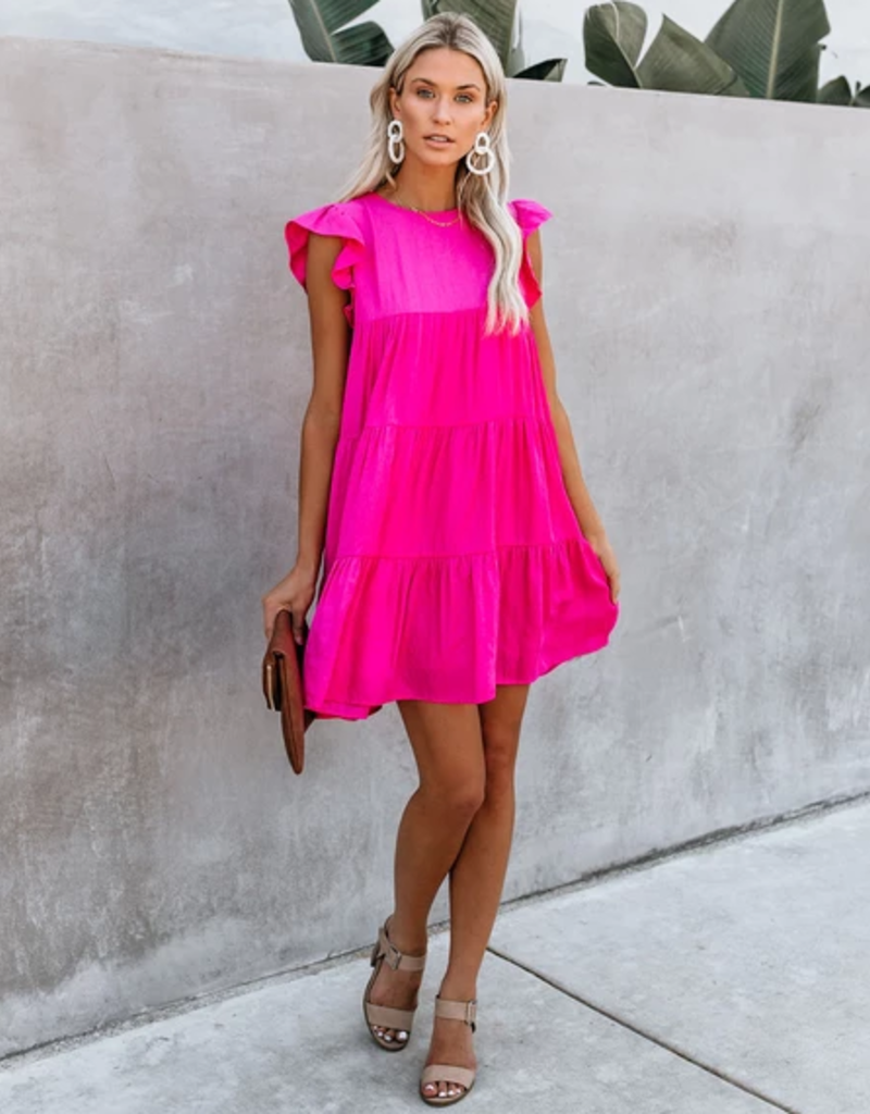 baby doll layered a-line dress FINAL SALE