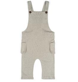 milkbarn organic overall grey pinstripe