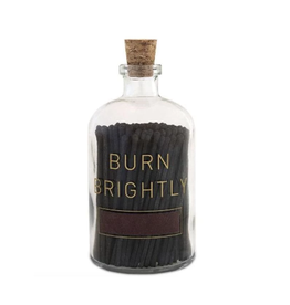 burn brightly large apothecary match cloche