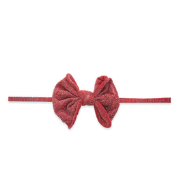 Baby Bling mini shimmer skinny bow