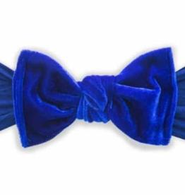 Baby Bling velvet knot headband