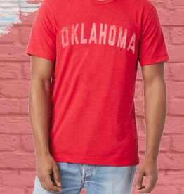 Opolis OU oklahoma straight faded tri crew FINAL SALE