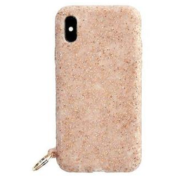 o venture rose gold confetti o ring iphone case X/XS
