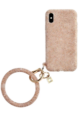 o venture rose gold confetti o ring iphone case X/XS