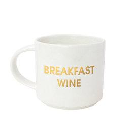 chez gagne breakfast wine mug