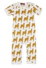 milkbarn cheetah romper
