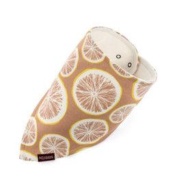 milkbarn grapefruit kerchief bib
