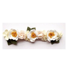 little wild petals peony felt flower crown
