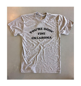 Opolis you're doin fine oklahoma crew tee