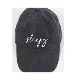 friday + saturday sleepy hat