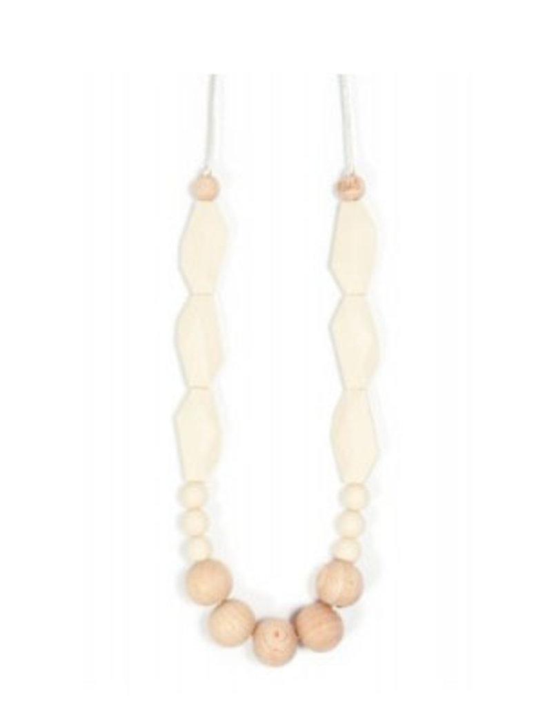 Bella Tunno navajo white teething necklace