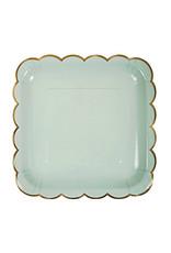 meri meri assorted pastel large plates (set of 8)