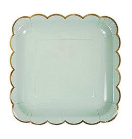 meri meri assorted pastel large plates (set of 8) FINAL SALE