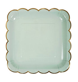 meri meri assorted pastel large plates (set of 8)