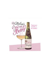 mothers bubbly card