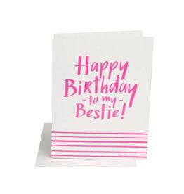 birthday bestie card