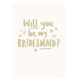 Calypso bridesmaid card