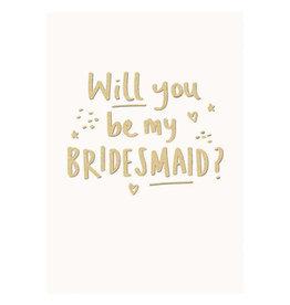 Calypso cards bridesmaid card