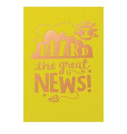 Calypso i heard the great news card