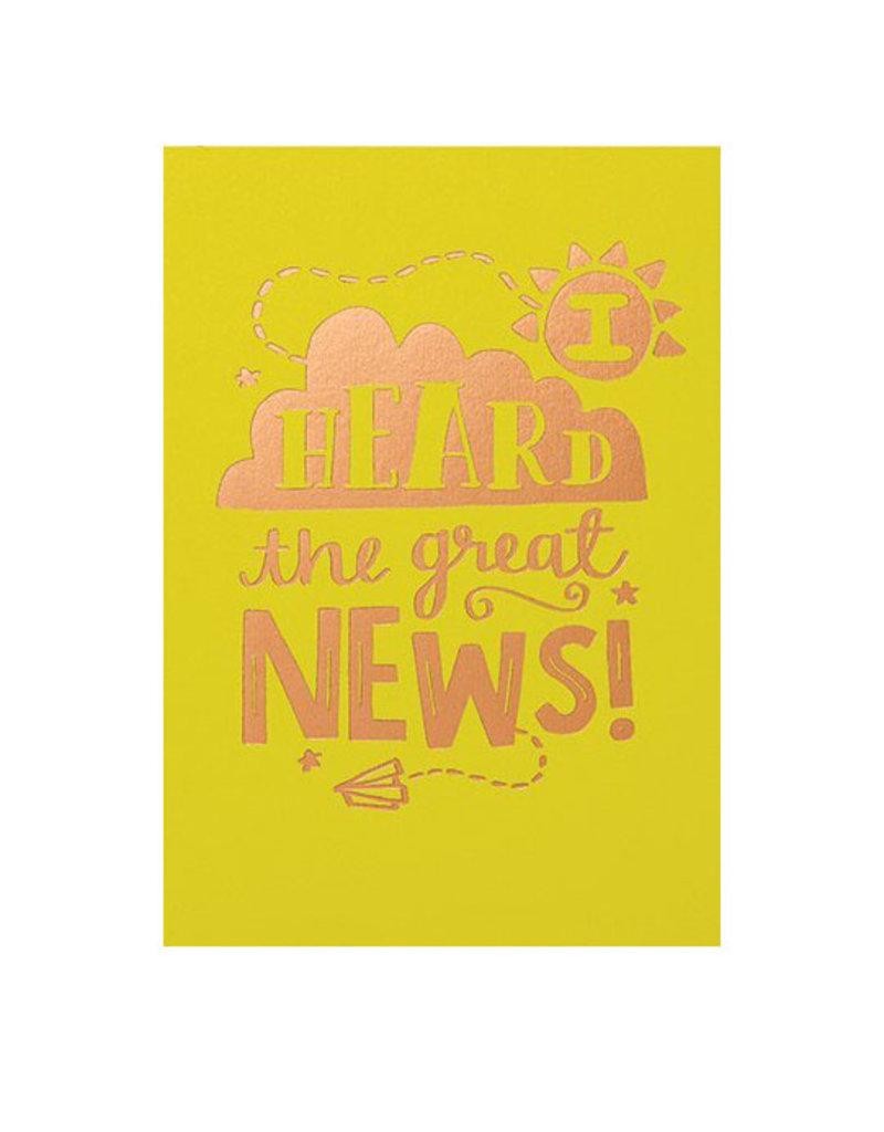 Calypso cards i heard the great news card