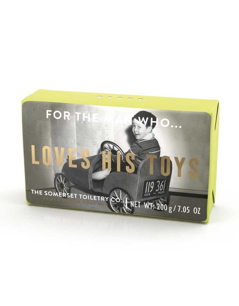 mens retro soap FINAL SALE