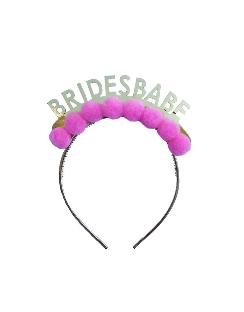 packed party brides babe headband