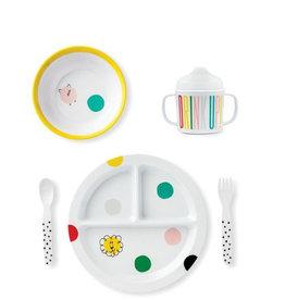 kate spade hey baby baby melamine dining set