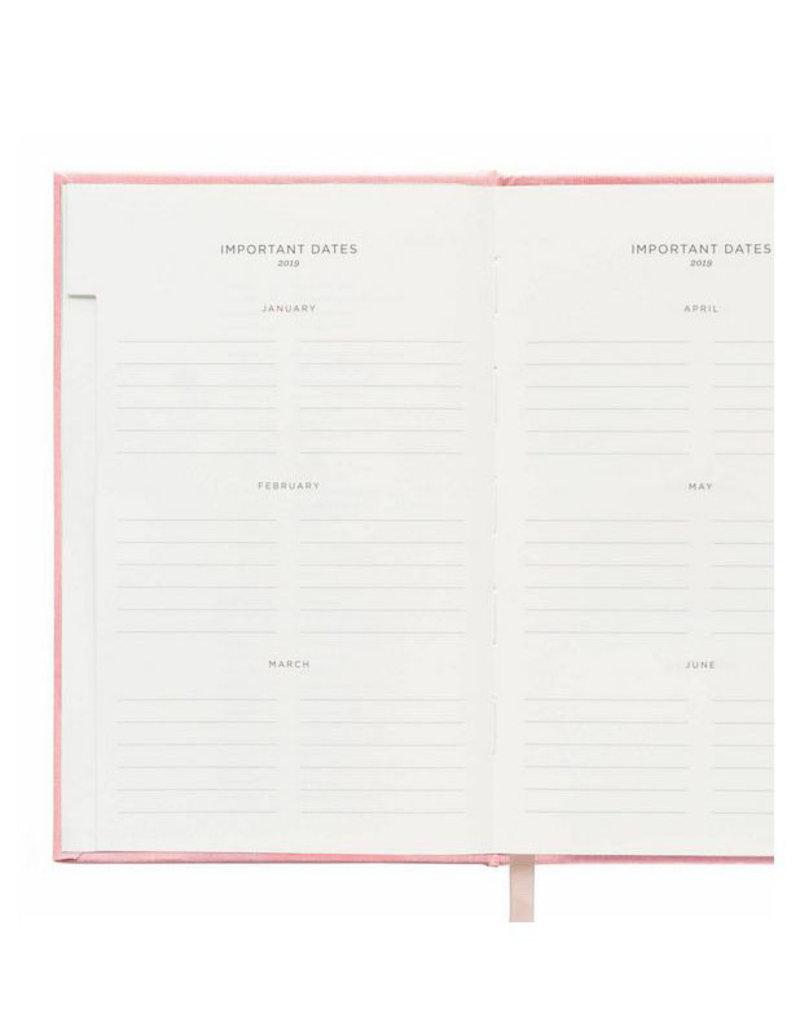 2019 rose hardcover agenda FINAL SALE
