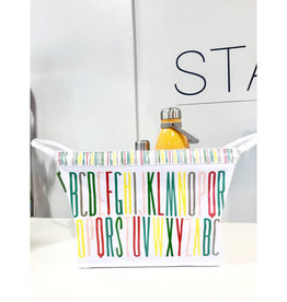 kate spade abc canvas tote