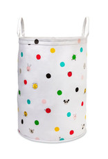 kate spade dots large canvas tote