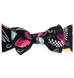 Baby Bling bayside high printed knot headband