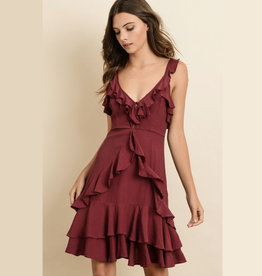 ruffle dress FINAL SALE